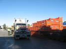 UNits being loaded out from our Perth Depot
