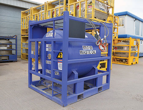 2900 LITRE WASTE OIL TANK