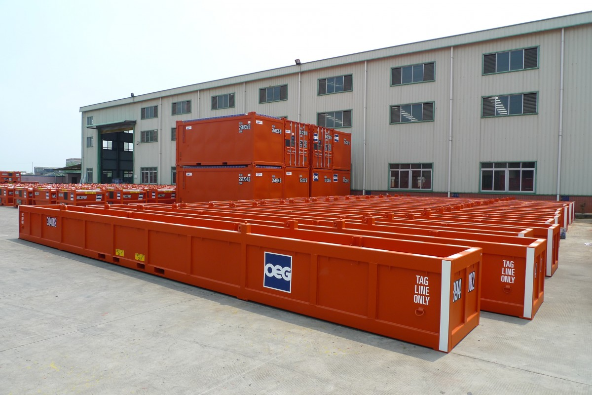 OEG Offshore DNV271 containers and baskets