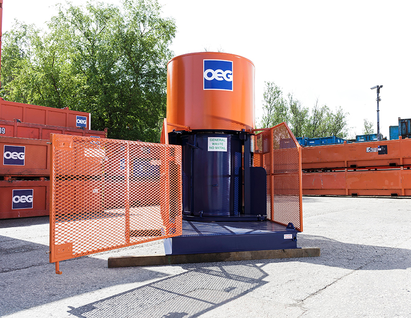 Offshore Waste Compactor