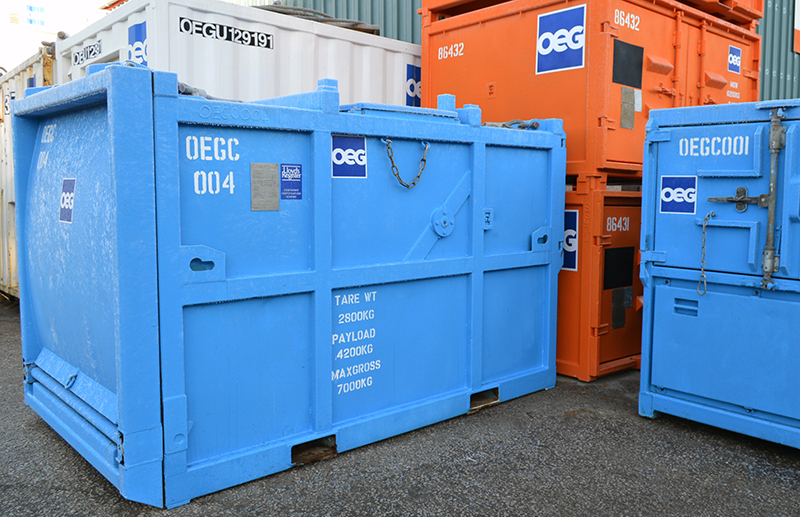Offshore Transportable Waste Compactor