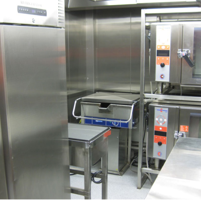 Type A - 12ft Dishwasher Container approved for safe area offshore