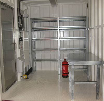 NORSOK Type J - Stores for Non Flammable Material