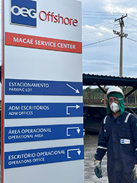 OEG Offshore Brazil office and yard