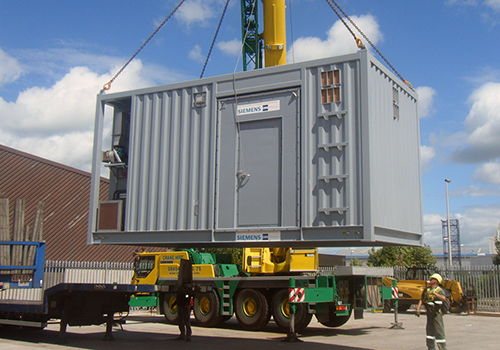 Offshore module for wind farm