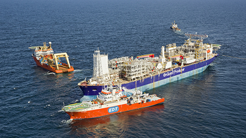 Enquest Producer FPSO with VSD Module