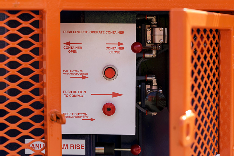 Offshore Waste Compactor Operations Panel