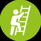 Fewer ladder climbs