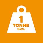 SWL 1 tonne