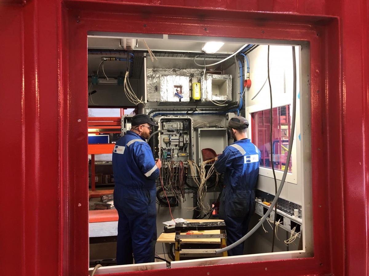 A60 cabin refurbishment service technicians